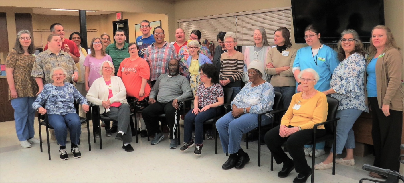 EOC Tech Adult Day Services group photo